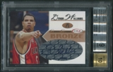 2005 SAGE #A26 Deron Williams Bronze Rookie Auto #025/200 BGS 9