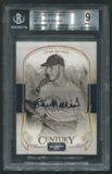 2008 Celebrity Cuts #81 Stan Musial Century Signature Gold Auto #061/100 BGS 9