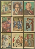 1959 Fleer The 3 Three Stooges Partial Set (VG-EX)