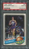 1979/80 Topps Basketball #60 Pete Maravich PSA 9 (MINT) *3109