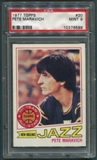 1977/78 Topps Basketball #20 Pete Maravich PSA 9 (MINT) *6599