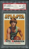 1971/72 Topps Basketball #55 Pete Maravich PSA 8.5 (NM-MT+) *6967