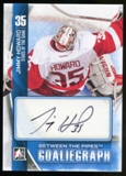 2013-14 In the Game Between the Pipes Autographs #AJH Jimmy Howard Autograph
