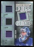 2013-14 In the Game Between the Pipes Full Gear Silver #FG04 Curtis Joseph /9