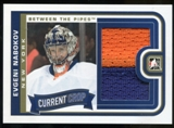 2013-14 In the Game Between the Pipes Current Crop Jerseys Gold #CC09 Evgeni Nabokov /10