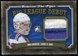 2013-14 In the Game Between the Pipes Big League Debut Jerseys Gold #BLD06 Mike Richter /10
