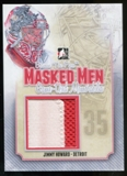 2013-14 In the Game Between the Pipes Masked Men 6 Memorabilia Silver #MMJJH Jimmy Howard /9