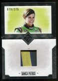 2014 Press Pass Total Memorabilia Single Swatch Silver #TMDP Danica Patrick Tire 70/275
