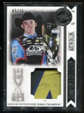 2014 Press Pass Total Memorabilia Champions Collection Silver #CCAD Austin Dillon Tire 45/75