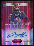 2014 Panini Certified New Generation Autographs Mirror Red #24 Jeremy Hill Autograph 42/49