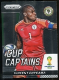 2014 Panini Prizm World Cup Cup Captains #29 Vincent Enyeama