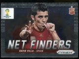 2014 Panini Prizm World Cup Net Finders #22 David Villa