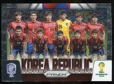 2014 Panini Prizm World Cup Team Photos #24 Korea Republic