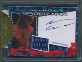 2012 Amazing Spider-Man Movie #AUR1 Andrew Garfield Relic Costume Auto