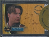 2001 The Mummy Returns #A1 Brendan Fraser as Rick O'Connell Auto