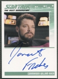 2011 The Complete Star Trek The Next Generation #83 Jonathan Frakes as Commander William Riker Auto
