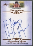 2012 Leaf Inscriptions #IHH1 Hulk Hogan 12x Champ Auto