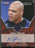 2008 TriStar TNA #MKAA Kurt Angle Cross The Line Authentic Action Shirt Auto #34/99
