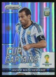 2014 Panini Prizm World Cup Cup Captains Prizms #16 Javier Mascherano