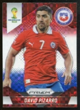 2014 Panini Prizm World Cup Prizms Red White and Blue #44 David Pizarro