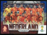 2014 Panini Prizm World Cup Team Photos Prizms Blue and Red Wave #18 Nederland
