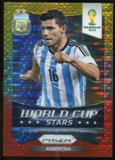 2014 Panini Prizm World Cup World Cup Matchups Prizms Yellow and Red Pulsar #22 Giorgio Chiellini/Sergio Ramos