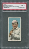 1909-11 T206 Piedmont Heinie Wagner (Bat On Right Shoulder) PSA 5 (EX) *5767