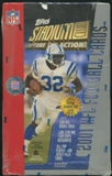 2001 Topps Stadium Club Football Retail Box