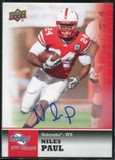 2011 Upper Deck Sweet Spot Autographs #13 Niles Paul RC