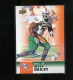 2011 Upper Deck Sweet Spot Autographs #18 Allen Bailey RC