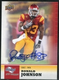 2011 Upper Deck Sweet Spot Autographs #29 Ronald Johnson RC