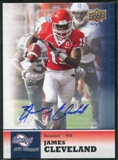 2011 Upper Deck Sweet Spot Autographs #38 James Cleveland RC