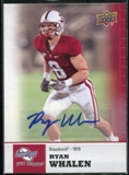 2011 Upper Deck Sweet Spot Autographs #47 Ryan Whalen RC
