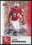 2011 Upper Deck Sweet Spot Autographs #48 Lance Kendricks RC