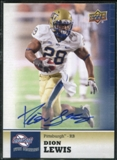 2011 Upper Deck Sweet Spot Autographs #95 Dion Lewis RC