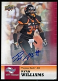 2011 Upper Deck Sweet Spot Autographs #100 Ryan Williams RC