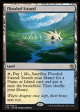Magic the Gathering Khans of Tarkir Single Flooded Strand Foil NEAR MINT (NM)