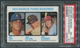 1973 Topps Baseball #615 Mike Schmidt Rookie PSA 8.5 (NM-MT+) *7736