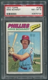 1977 Topps Baseball #140 Mike Schmidt PSA 8 (NM-MT) *5734