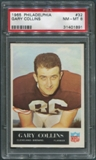 1965 Philadelphia Football #32 Gary Collins PSA 8 (NM-MT) *1891