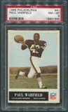 1965 Philadelphia Football #41 Paul Warfield Rookie PSA 8 (NM-MT) *1666