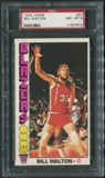 1976/77 Topps Basketball #57 Bill Walton PSA 8 (NM-MT) *7607