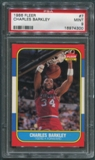 1986/87 Fleer Basketball #7 Charles Barkley Rookie PSA 9 (MINT) *4300
