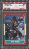 1986/87 Fleer Basketball #68 Karl Malone Rookie PSA 8.5 (NM-MT+) *9377