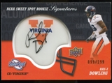 2011 Upper Deck Sweet Spot Rookie Signatures Variations #RSRD Ras-I Dowling Autograph /299