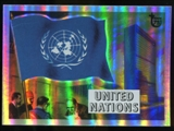 2013 Topps 75th Anniversary Rainbow Foil #8 Flags of the World