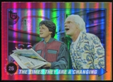 2013 Topps 75th Anniversary Rainbow Foil #90 Back to the Future II