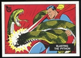 2013 Topps 75th Anniversary Test Issue #1 Superman in the Jungle
