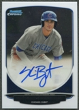 2013 Bowman Chrome Draft #KB Kris Bryant Draft Pick Rookie Auto