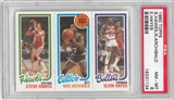 1980/81 Topps Basketball S. Hawes/N. Archibald/E. Hayes PSA 8 (NM-MT) *1134